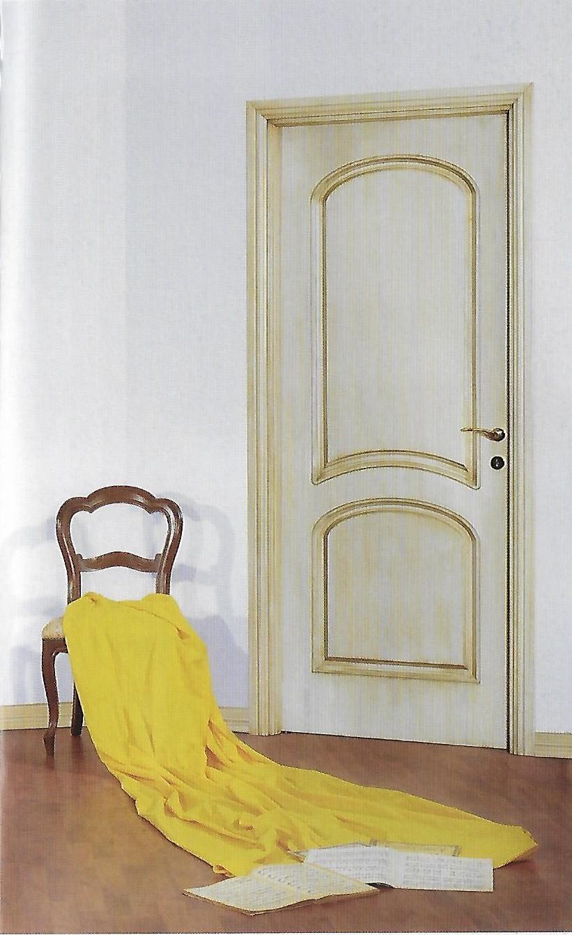 Porta classica bianca decora
