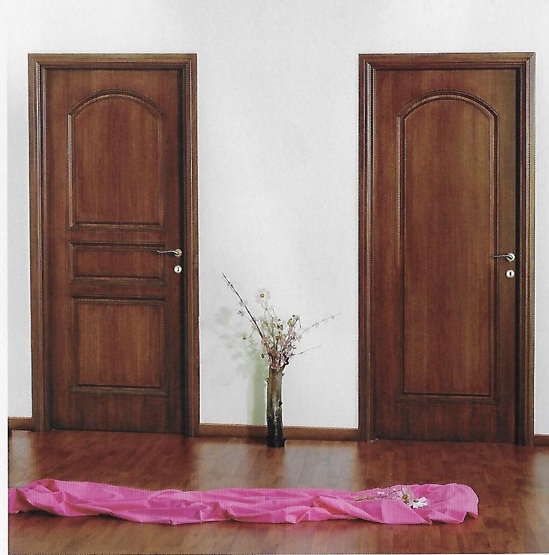 Porta classica legno coppia